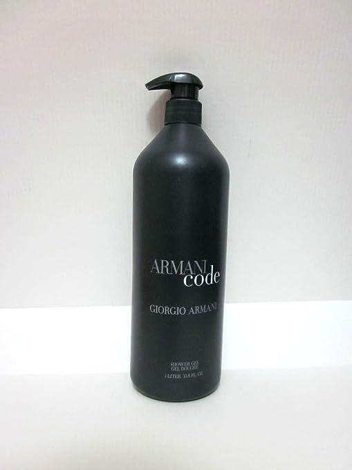 Amazon Com Armanicode Shower Gel 33 8 Oz One Liter Size Beauty