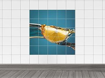 Vasca Da Bagno Larghezza 60 Cm : Graz design 765366 10 x 10 60 piastrelle adesivo da parete per