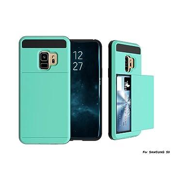 Para Samsung Galaxy S9 5,8 pulgadas Tarjeta Cartera ...