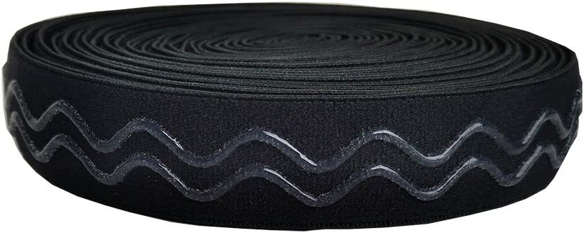 rotolo da 4,6/m Banda elastica/in silicone stampato con doppia onda 18 mm