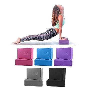 XN8 Bloque de Yoga de Alta Densidad, Bloque de Espuma EVA ...