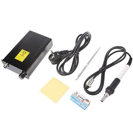 cuigu controlador de temperatura estación de hierro de soldadura de OLED T12 Digital 72 W AC
