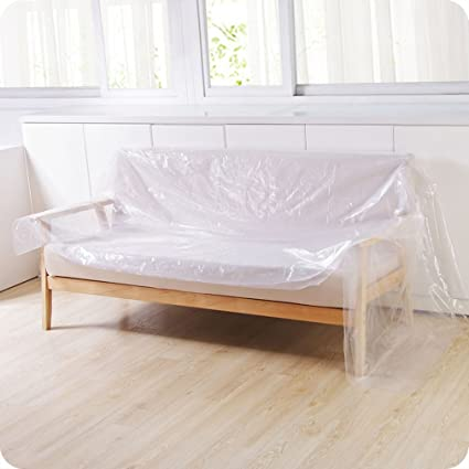 TraveT Multifunction Furniture Car Dust Cover, PE Bed Sofa Furniture Dust  Cover Outdoor Waterproof Travel