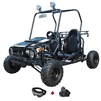 Amazon.com: X-Pro - Carrito de viaje para niños de 110 cc ...
