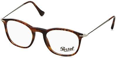 2bb30f3c71344 Persol Men s PO3124V Eyeglasses Light Havana 48mm