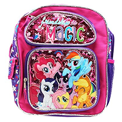 New My Little Pony Friendships Is Magic Small 12 Inches Backpack-36356   Kids' Backpacks