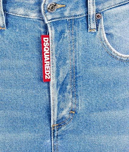 Dsquared2 Mode De Femme S72LB0217S30662470 Bleu Claire Coton Jeans | Automne-Hiver 19