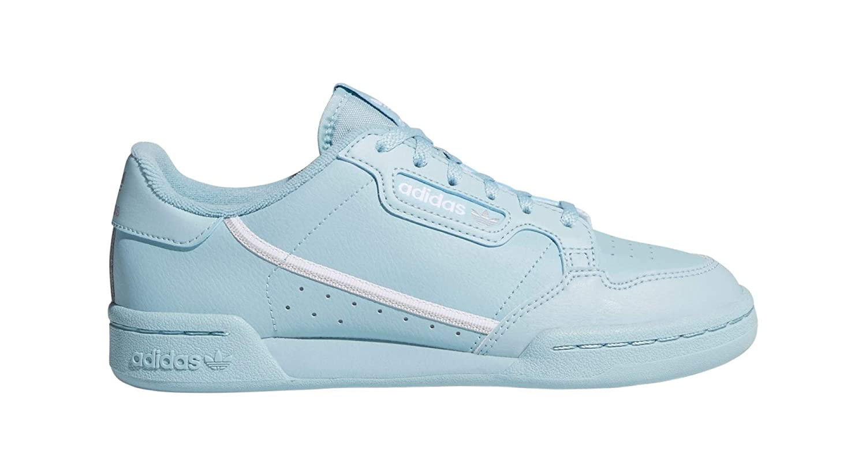 76e21e29130 Amazon.com | adidas Originals Kids' Grade School Continental 80 Shoes (5,  Ash Grey) | Sneakers