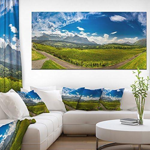 Loch Ness Black and White Seascape Scotland Multi Panel Canvas Wall Art Decor