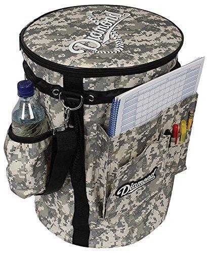 Diamond Baseball/Softball Bucket Sleeve, (Coachs Bucket Cover)