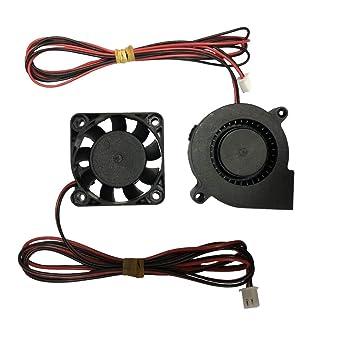 Ventilador extractor para impresora 3D, 12 V, 40 x 10, 50 x 15 ...