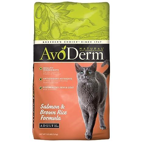Amazon.com: avoderm Natural comida para gatos: Mascotas
