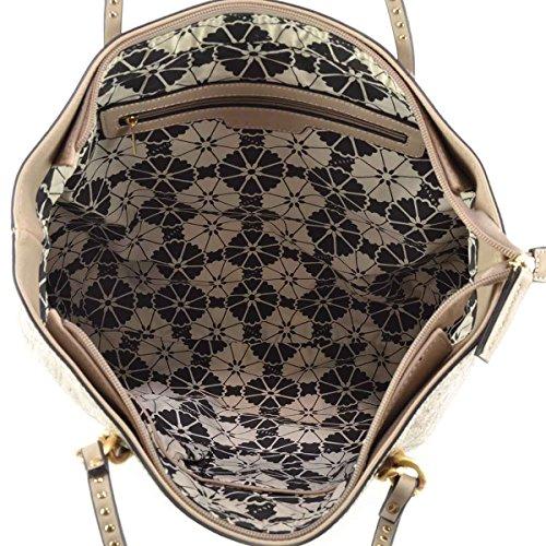 Borsa donna a spalla Sisley - Linea FABULA - Colore Beige