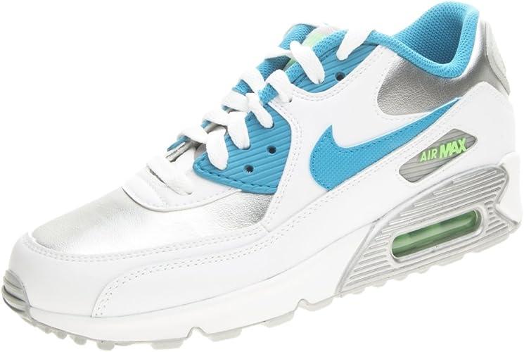 air max 90 bianche blu