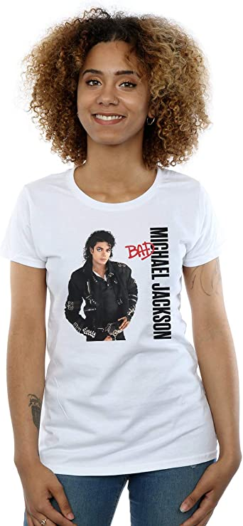 Absolute Cult Michael Jackson Ni/ñas Bad Pose Camiseta