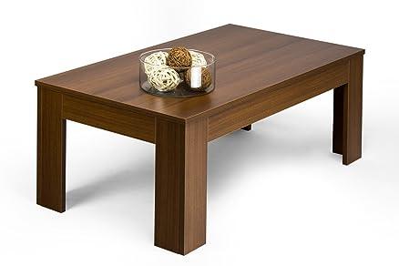Mobilifiver Easy Tavolino da Salotto, Legno, Marrone, 100 x 55 x ...