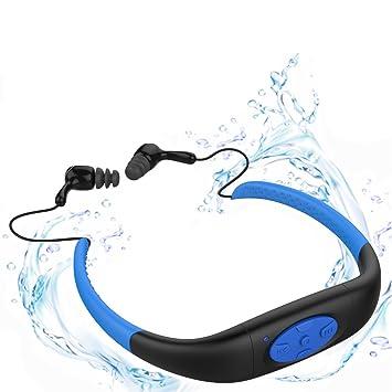 Auriculares Bluetooth inalámbricos,YIKESHU Auriculares Bluetooth Deportivos Soporte 4.2 llamada Bluetooth,Unidad de altavoz de 9 mm + diafragma nano ...