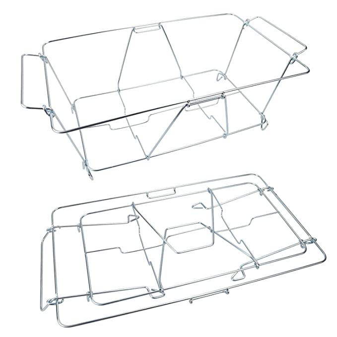 Amazon Com Kalrede Chafer Stand Folding Chafing Stand Pack Of 2
