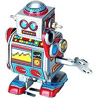 Mini Robot De Cuerda A Cuerda Juguete Multi-color