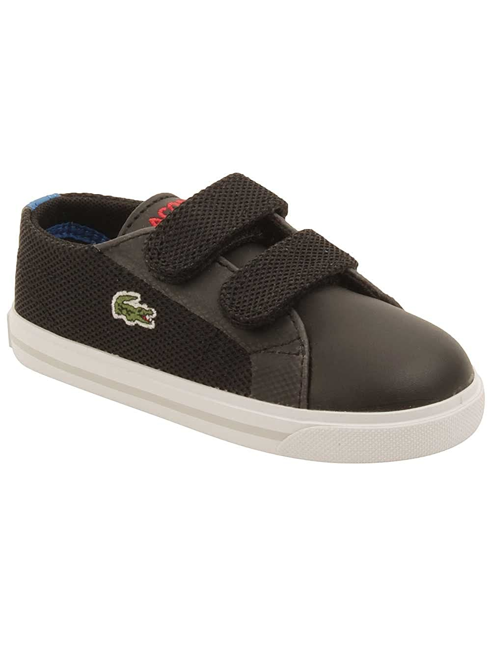 Amazon.com: LACOSTE Marcel 4161 Black/Royal Blue Sneakers 7-32SPI0121024 Infant/Toddler Shoes (4.0 M US Toddler): Shoes