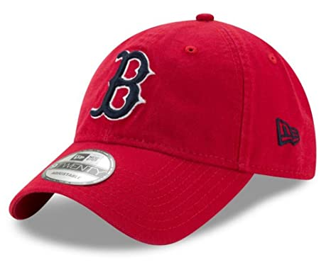 92cbce8ec New Era MLB Men's 9Twenty Core Classic Boston Red Sox Baseball Hat ...