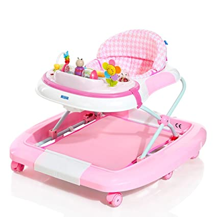 Baby carriage Andador PÁGINAS Azul Rosado Multifunción Anti Rollover ...
