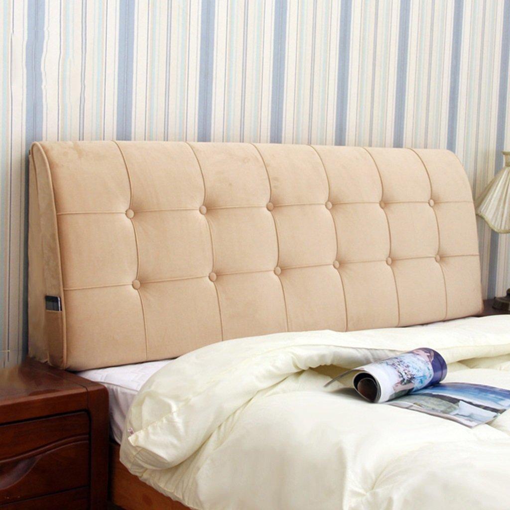 WCH ファッション枕カスタムバックサポートウエスト腰椎ベッド大きなパッド入りクッションホームオフィスで読むためのバックサポート (Color : A) B07QRSN36Q A