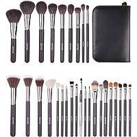 Eono by Amazon - Set de Brochas de Maquillaje Profesional, 29pcs Kit de Maquillaje para Difuminar Base y Sombra de Ojos…