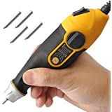 Utool Engraver, 24W Engraving Tool with Soft Rubber Grip for Wood Metal Glass Engraving & Etching with 4 Replaceable…