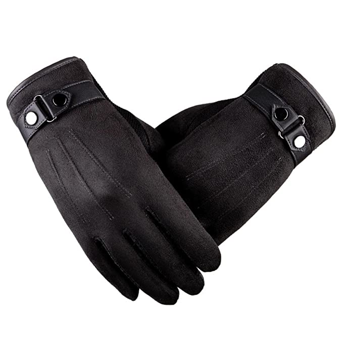 Motorrad Gloves Wildleder Handschuh Radfahren Winterhandschuhe Touch-Handschuhe