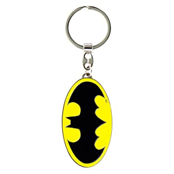 DC Comics - Superhéroe - Batman Logo Llavero - Key-Ring ...