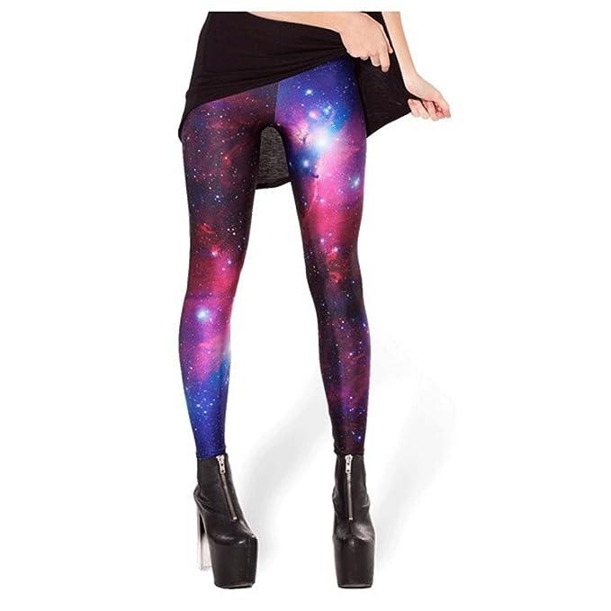 64148181cd Women Galaxy Leggings Space Print Pants XS-M: Amazon.ca: Clothing &  Accessories