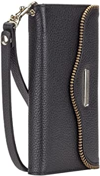Rebecca Minkoff Genuie Leather Folio Wristlet for Samsung Galaxy S6 Edge Plus