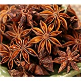 Three Squirrels Star Anise Seeds, Whole Chinese Star Anise Pods, Dried Anise Star Spice, 4oz