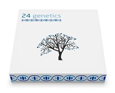 Test De Adn 24genetics Todo En Uno Incluye Informes De Salud