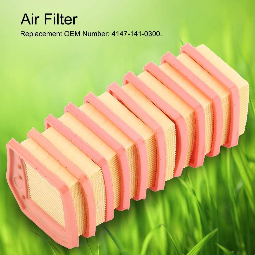 Air Filter Cleaner for Stihl FS410 FS460 FS240 FS260 FS360 Trimmer 10 Pcs VIFERR Air Filter Cleaner for Stihl