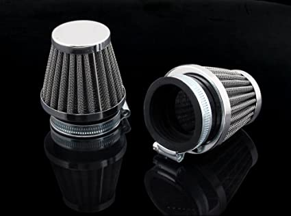 Areyourshop 2pcs 52mm Pod Air Filter for CB650 XS1100 KZ650 GS550