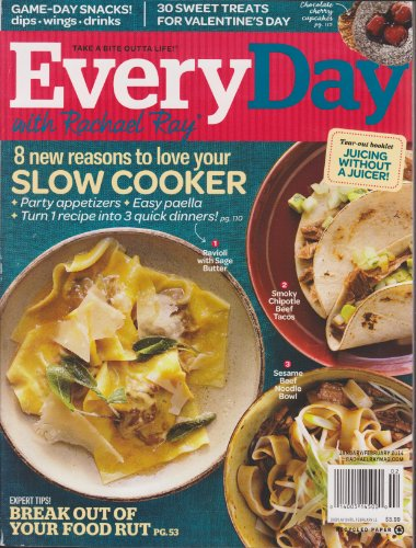 EveryDay with Rachael Ray January February 2014