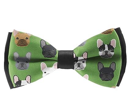 Amazon.com: Corbata de boda de satén para niños, diseño de ...