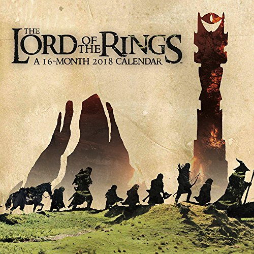 The Lord of the Rings 2018 Wall Calendar