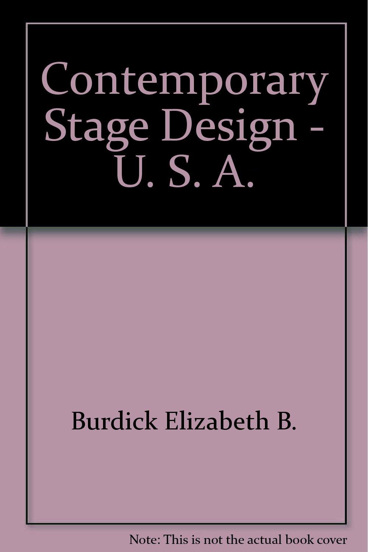 Contemporary Stage Design -- U.S.A.