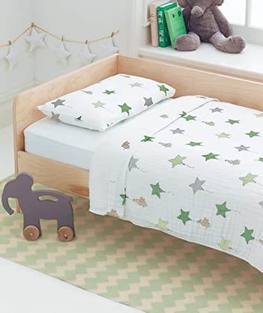 Aden+anais Classic Toddler Bed In A Bag   Up Up And Away Kids Bedding