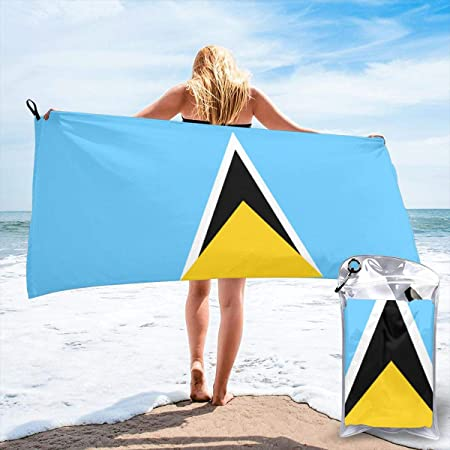 bikini bag Flag of Saint Lucia Bath Swimming Pool Yoga ...