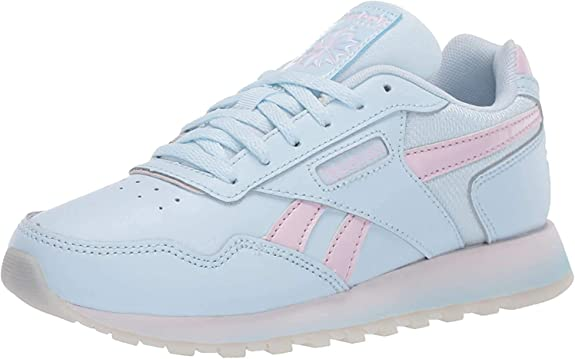 Pastel Blue And Pink Classic Reebok Harman Sneakers