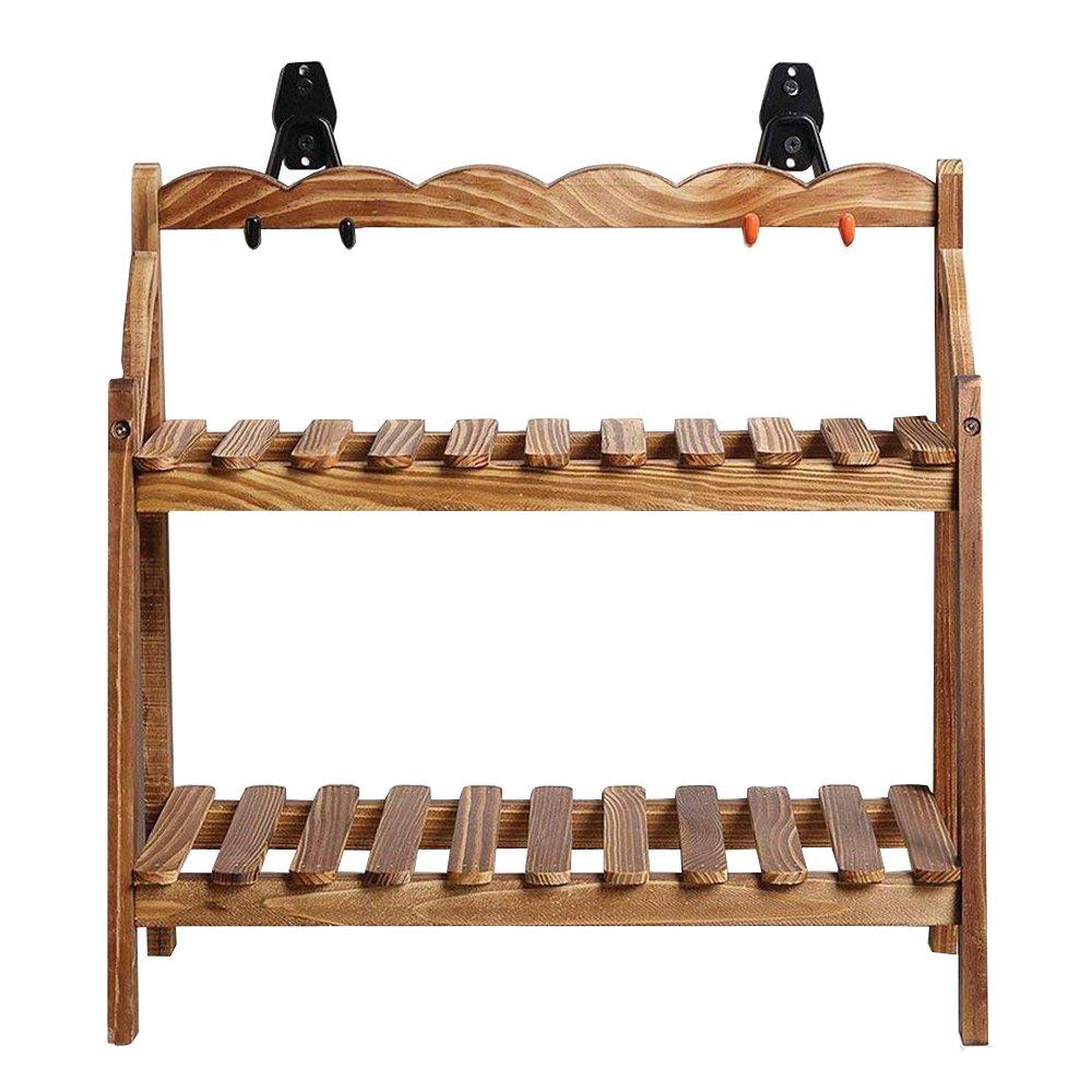 AIYoo 2 Pack Utility Hooks Heavy Duty Garage Storage Extended U-Hook for Ladders & Tools,Wall Mount Garage Hanger & Organizer - Tool Holder U Hook with Anti-Slip Coating Storage Hooks by AIYoo (Image #4)