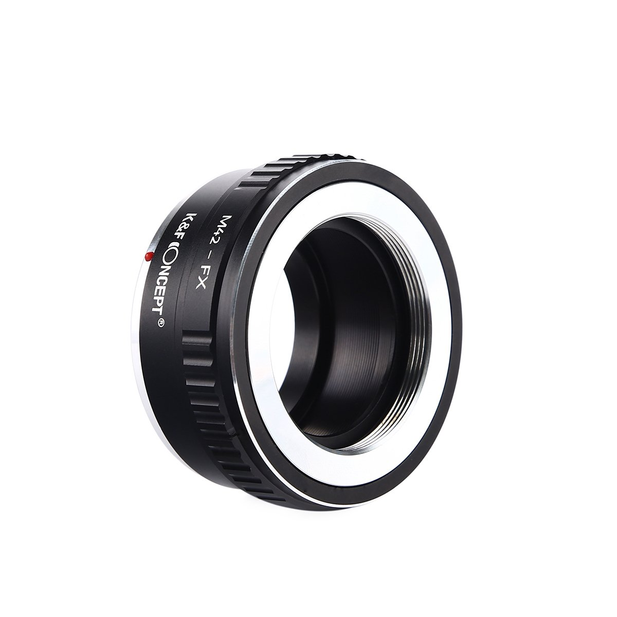 M42-FX K/&F Concept Lens Mount Adapter and Cleaning Cloth for M42 Mount Lenses to Adapt to Fujifilm X-Series Mirrorless Camera Body Hard Plastic Case