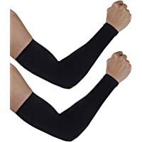 Man Women Arm Warmer Sun UV Protection for Sports Running Cycling Set of 2pairs