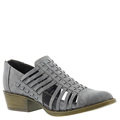 8696a5183657 Coconuts by Matisse Womens Woody Charcoal Closed Toe Shoes (7.5)