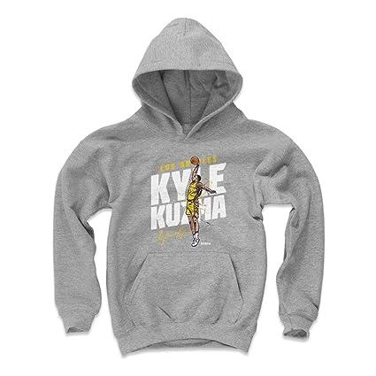 Amazon.com   500 LEVEL Kyle Kuzma Los Angeles Basketball Kids Hoodie ... cfd4c6e7a