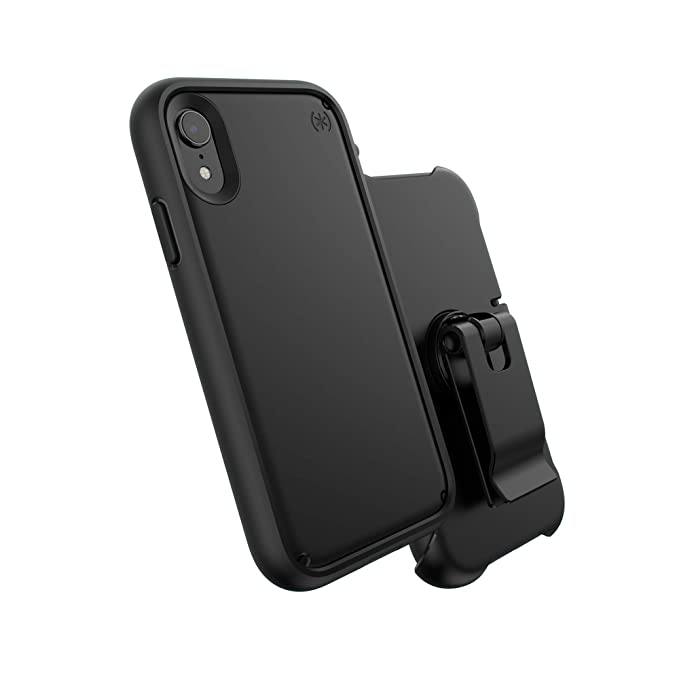 online retailer fd363 71ec3 Speck Products Presidio Ultra Case for iPhone X, Black/Black/Black